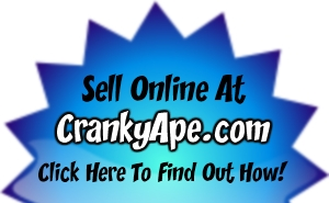 Sell online at CrankyApe.com
