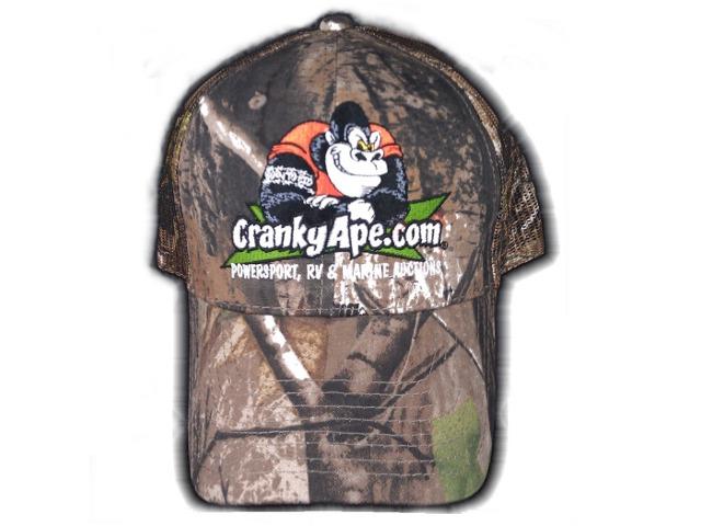 Camo CrankyApe Ball Cap